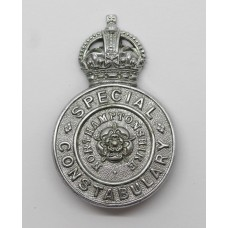 Northamptonshire Special Constabulary Lapel Badge - King's Crown