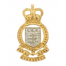 Royal Army Ordnance Corps (R.A.O.C.) Officer's Dress Cap Badge - Queen's Crown