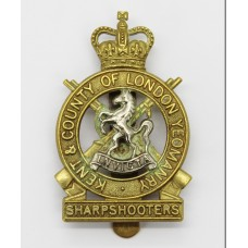Kent & County of London Yeomanry (Sharpshooters) Bi-Metal Cap