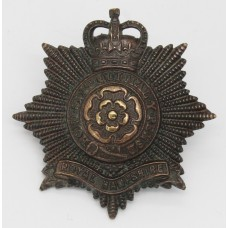 Royal Hampshire Regiment Officer's Service Dress Cap Badge - Queen's Crown