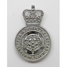 Northampton & County Constabulary Cap Badge - Queen's Crown