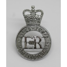 Dyfed-Powys Constabulary Cap Badge - Queen's Crown