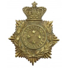 Victorian New Zealand Volunteers General Service Helmet Plate (C.1895-1901)