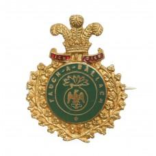 Royal Irish Fusiliers Enamelled Sweetheart Brooch