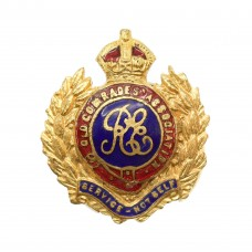 Royal Engineers Old Comrades Association Enamelled Lapel Badge -