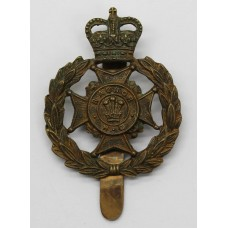 Radnor Home Guard Cap Badge - Queen's Crown