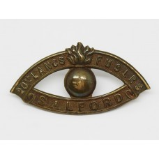 20th (Salford Pals) Bn. Lancashire Fusiliers Shoulder Title