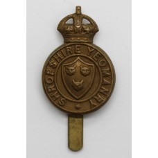 Shropshire Yeomanry Cap Badge - King's Crown