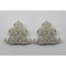 Pair of Royal Lancers Other Ranks Collar Badges