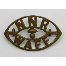 Northern Nigeria Regiment, West African Frontier Force (NNR/WAFF) Shoulder Title