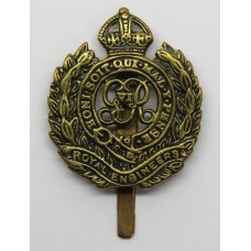 George VI Royal Engineers Locally Made Cast Cap Badge