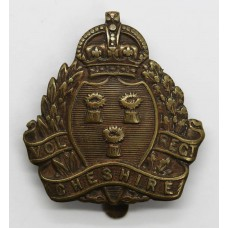 Cheshire Volunteer Regiment WWI VTC Cap Badge