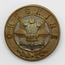 Cheshire Regiment Helmet Plate Centre