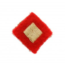 42nd Armoured Division Cloth Formation Sign