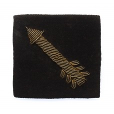 7th Indian Infantry Division Cloth Bullion Formation Sign