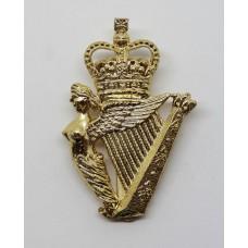 Ulster Defence Regiment (U.D.R.) Anodised (Staybrite) Cap Badge -