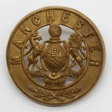 Manchester Regiment Helmet Plate Centre