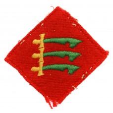147th & 304th (Essex Yeomanry) Field Regiment Royal Artillery Cloth Formation Sign