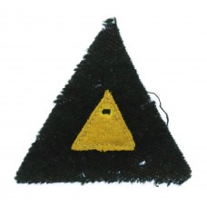 6th South African Armoured Division Cloth Formation Sign