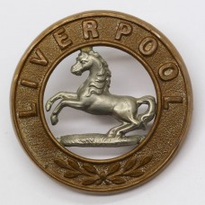 King's Liverpool Regiment Helmet Plate Centre