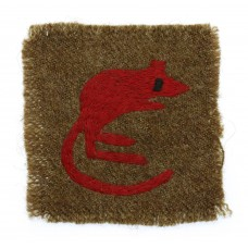Early WW2 7th Armoured Division Cloth Formation Sign (1st Pattern)