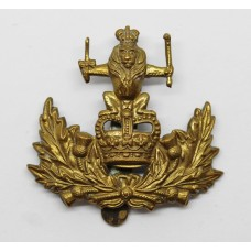 Queen's Own Royal Glasgow Yeomanry Cap Badge - Queen's Crown