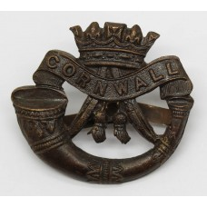 Duke of Cornwall's Light Infantry Officer's Service Dress Cap Badge