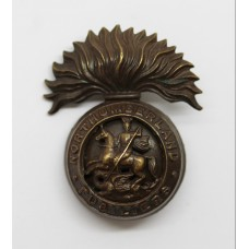 Royal Northumberland Fusiliers Officer's Service Dress Cap Badge