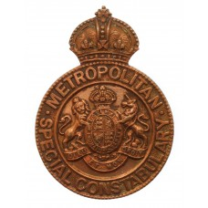 Metropolitan Police Special Constabulary Cap/Lapel Badge - King's