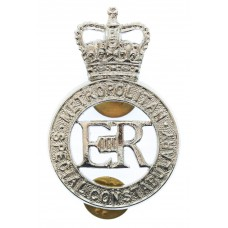 Metropolitan Special Constabulary Cap Badge - Queen's Crown