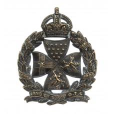 Inns of Court O.T.C. Cap Badge - King's Crown
