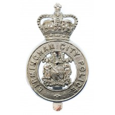 Birmingham City Police Cap Badge - Queen's Crown