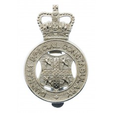Durham Special Constabulary Cap Badge - Queen's Crown