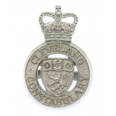 Cleveland Constabulary Cap Badge - Queen's Crown