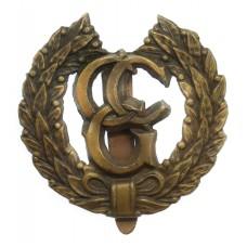 Control Commission Germany (C.C.G.) Cap Badge