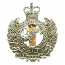 Queen's Own Dorset Yeomanry Cap Badge - Queen's Crown