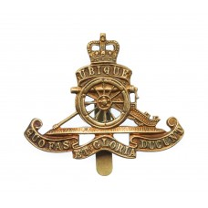 Royal Artillery Beret Badge - Queen's Crown