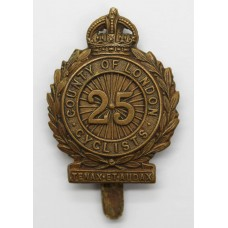 25th County of London (Cyclists) Bn. London Regiment Cap Badge