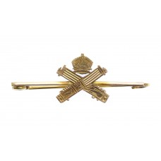 WW1 Machine Gun Corps (M.G.C.) 9ct Gold Sweetheart Brooch