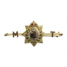 WW1 Army Service Corps (A.S.C.) Mechanical Transport Companies 1915 9ct Hallmarked Gold Sweetheart Brooch