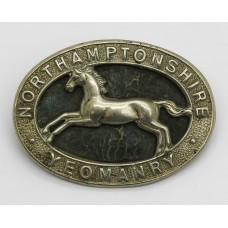 Northamptonshire Yeomanry Cap Badge