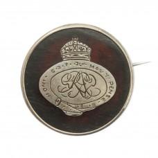 WW1 Grenadier Guards 1917 Hallmarked Silver & Tortoiseshell Sweetheart Brooch