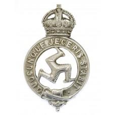 Isle of Man Constabulary Cap Badge - King's Crown