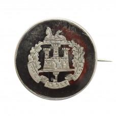 WW1 Essex Regiment 1916 Hallmarked Silver & Tortoiseshell Swe