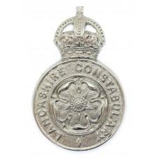 Lancashire Constabulary Cap Badge - King's Crown