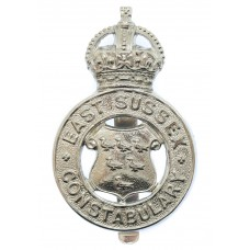 East Sussex Constabulary Cap Badge - King's Crown