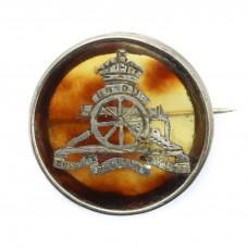 WW1 Royal Artillery 1916 Hallmarked Silver & Tortoiseshell Sw