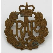 Royal Air Force (R.A.F.) Cap Badge - Queen's Crown
