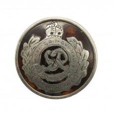 WW1 Royal Engineers Sterling Silver & Tortoiseshell Sweethear