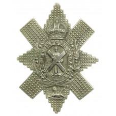 Black Watch (The Royal Highlanders) Cap Badge - King's Crown